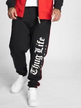 Thug Life Joggebukser Blaze svart