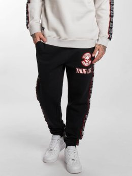 Thug Life Jogging kalhoty Lux čern