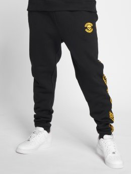 Thug Life Anaconda Sweatpants Black