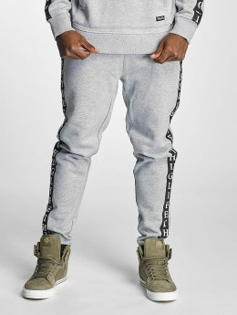 Thug Life joggingbroek Wired grijs