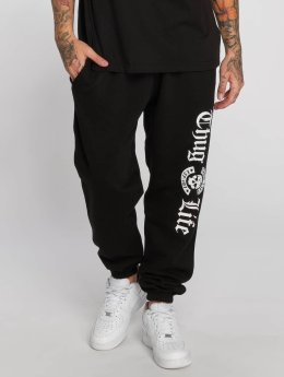 Thug Life joggingbroek B.Gothic p zwart
