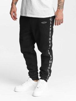 Thug Life Männer Jogginghose Wired in schwarz