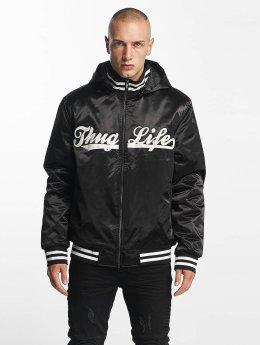 Thug Life Letecká bunda New York čern