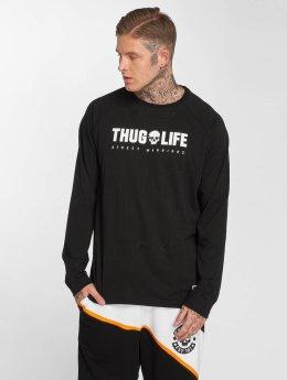 Thug Life Longsleeve Future zwart