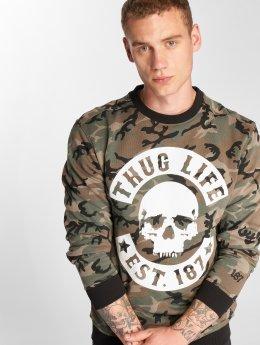 Thug Life Maglia B.Camo mimetico