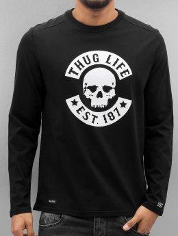 Thug Life Pitkähihaiset paidat Z-Ro musta