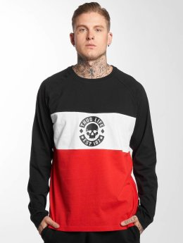 Thug Life Pitkähihaiset paidat Lion punainen