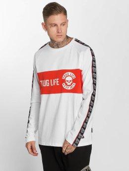 Thug Life Pitkähihaiset paidat Lux valkoinen