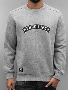 Thug Life Pullover Rudedigga grau