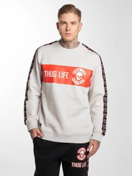 Thug Life Pullover Lux grau