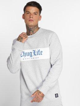 Thug Life Pullover Freeze grau