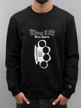 Thug Life Pullover Streetlife schwarz