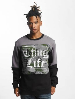 Thug Life Pullover New Life schwarz