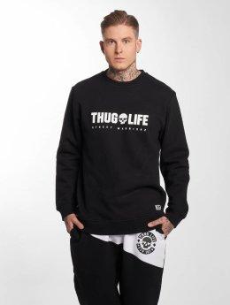 Thug Life Pullover Future schwarz