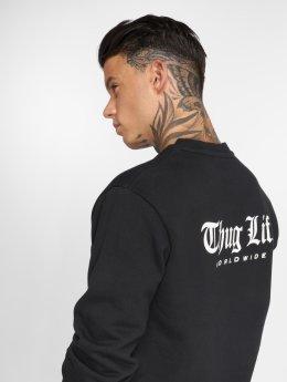 Thug Life Pullover Digital schwarz