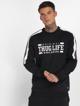 Thug Life Pullover Python schwarz