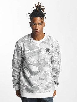 Thug Life Pullover Hidden weiß