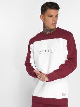 Thug Life Pullover Avantgarde weiß