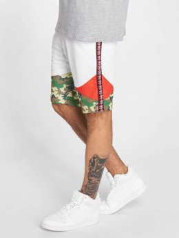 Thug Life Tiger Shorts White