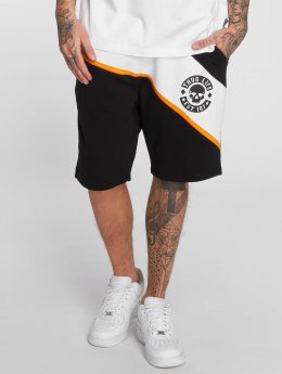 Thug Life Lion Shorts Black/Orange