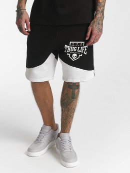 Thug Life Panther Shorts Black