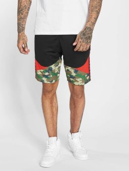 Thug Life Tiger Shorts Black