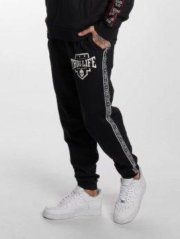 Thug Life Spodnie do joggingu Worldwide  czarny