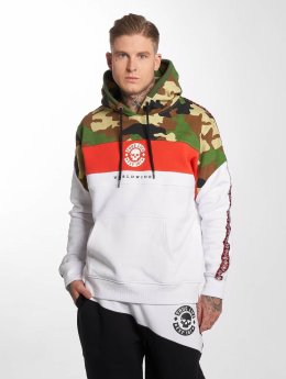 Thug Life Sweat capuche Tiger blanc