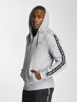 Thug Life Sweat capuche zippé Wired Life gris