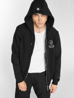 Thug Life Sweat capuche zippé B.Distress noir