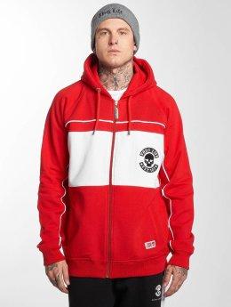 Thug Life Sweat capuche zippé Walk rouge