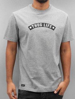 Thug Life T-paidat Richking harmaa