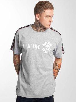 Thug Life T-paidat Lux harmaa