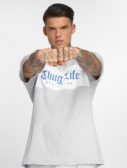 Thug Life T-paidat Freeze harmaa