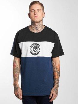 Thug Life T-Shirt Lion bleu