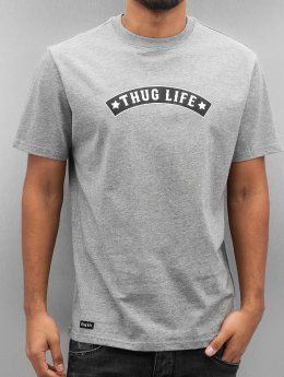 Thug Life T-Shirt Richking gris