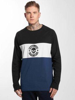 Thug Life T-Shirt manches longues Lion bleu