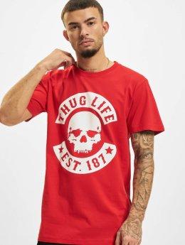 Thug Life T-shirt B.Skull röd