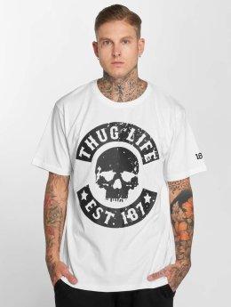 Thug Life T-Shirt B. Camo weiß