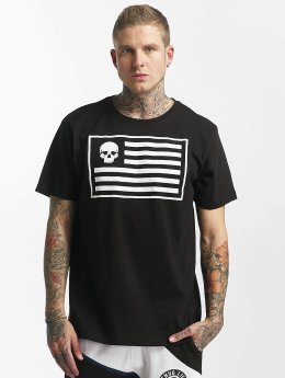 Thug Life t-shirt Flag zwart