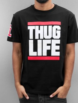 Thug Life T-Shirty Bigfight czarny