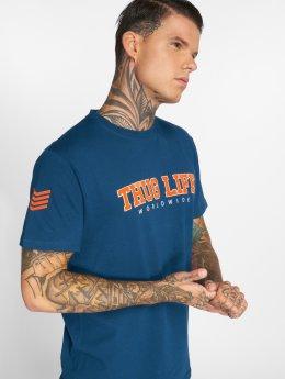 Thug Life T-Shirty Blazer  niebieski