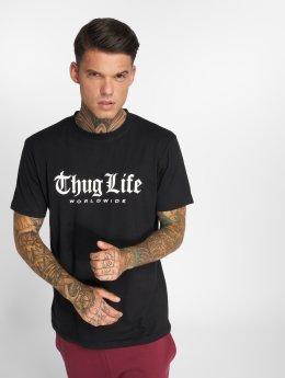 Thug Life T-skjorter Digital svart