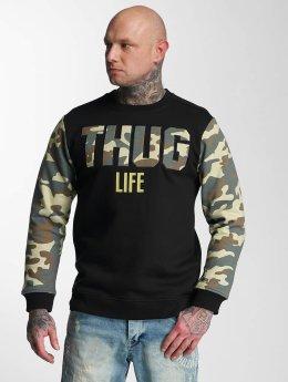 Thug Life trui Zombi camouflage