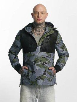 Thug Life Skin Jacket Black Camouflage