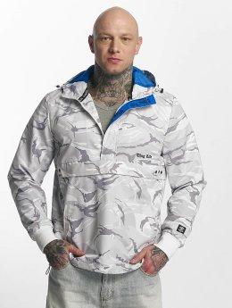 Thug Life Threat Jacket White Camouflage