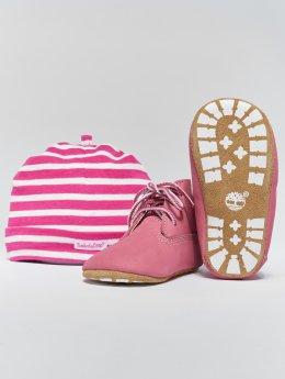 Timberland Ботинки Crib Booties With Hat лаванда