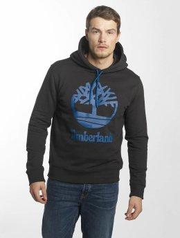 Timberland Felpa con cappuccio Stacked Logo nero