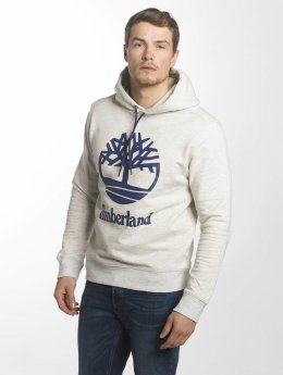 Timberland Hoodies Stacked Logo šedá