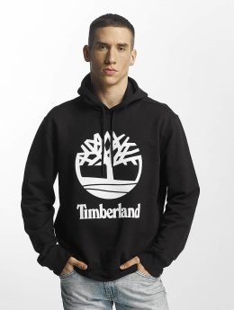 Timberland Hoody Stacked schwarz